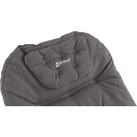 Outwell Fontana Lake Folding Lounger grey